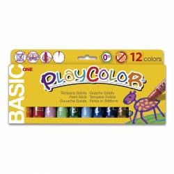TEMPERA PLAYCOLOR 12 COLORES