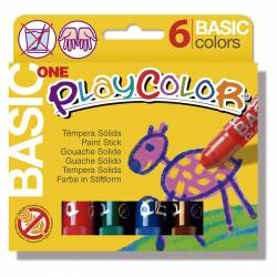 TEMPERA PLAYCOLOR 6 COLORES