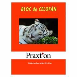BLOC PAPEL CELOFAN PRAXTON 10H P/25U