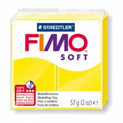 PASTA FIMO SOFT 57G AMARILLO LIMON N.10