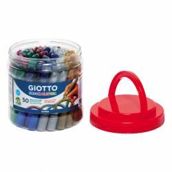 LAPIZ GLITTER GIOTTO GLUE DECOR 10'5ML B/50U
