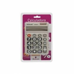 CALCULADORA 8D TECLAS GIGANT CD8137