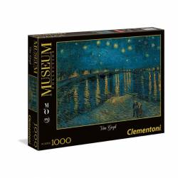 PUZZLE 1000P CLEMENTONI MUSEO NOCHE ESTRELLADA