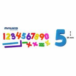 JGO. MINILAND NÚMEROS MAGNÉTICOS 54 P.