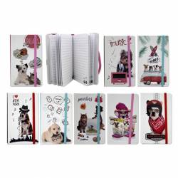 CUADERNO 30X15 80H DOGS&CATS C/GOMA