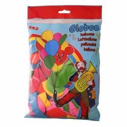 GLOBOS COLORES SURTIDOS B/200U
