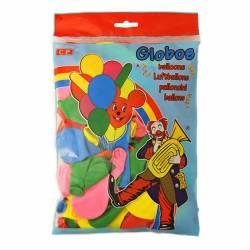 GLOBOS COLORES SURTIDOS B/100U