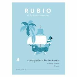 CUADERNO RUBIO COMPET. LECTORA 4 MUNDO PIRATA