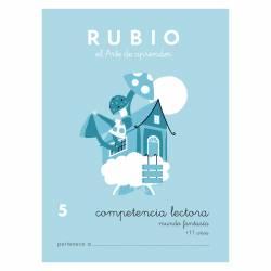 CUADERNO RUBIO COMPET. LECTORA 5 MUNDO FANTASIA