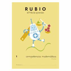 CUADERNO RUBIO COMPETENCIA MATEMATICA 1