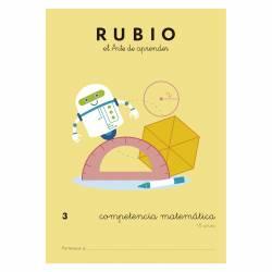 CUADERNO RUBIO COMPETENCIA MATEMATICA 3
