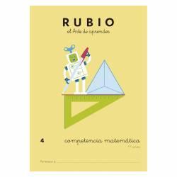CUADERNO RUBIO COMPETENCIA MATEMATICA 4