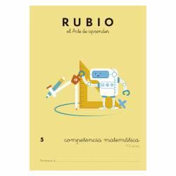CUADERNO RUBIO COMPETENCIA MATEMATICA 5