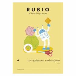 CUADERNO RUBIO COMPETENCIA MATEMATICA 6