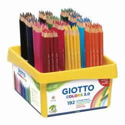 LAPIZ COLOR GIOTTO COLORS 3.0 SCHOOL PACK 192U