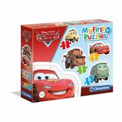 PUZZLE 3+6+9-12P CLEMENTONI PROGR. CARS