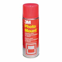 ADHESIVO SPRAY 3M PHOTO MOUNT 400ML