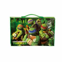 MALETIN DIBUJO MONTICHELVO 30P TURTLES BORDER L19