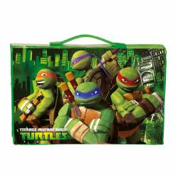 MALETIN DIBUJO MONTICHELVO 87P TURTLES BORDER L19