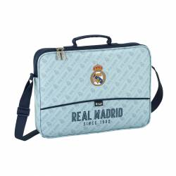 CARTERA ESC. SAFTA 38CM R. MADRID CORPORATIVA 611824385