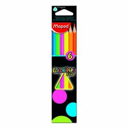 LAPIZ FLUOR MAPED COLOR'PEPS 6 COL.
