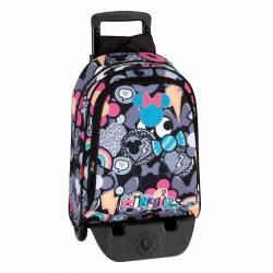MOCHILA MONTICHELVO CARRO MINNIE PATCH 55441