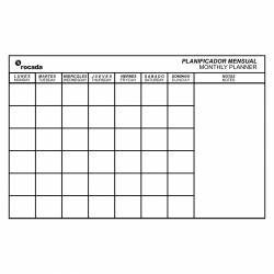 PLANNING MAGNETICO 75X115 MENSUAL
