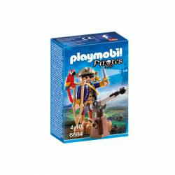 PLAYMOBIL - FIGURA CAPITAN PIRATA