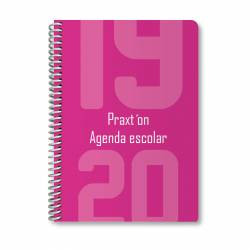 AG. ESC. PRAXTON 4º ESP. PP D/P FUCSIA