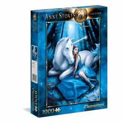 PUZZLE CLEMENTONI 1000 P. ANNE STOKES BLUE MOON