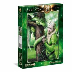 PUZZLE CLEMENTONI 1000 P. ANNE STOKES KINDRED SPIRITS