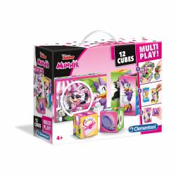 PUZZLE CLEMENTONI 12 CUBOS MULTI PLAY MINNIE 41506