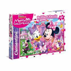 PUZZLE CLEMENTONI 104 P. DIAMANTE MINNIE HAPPY HELPER