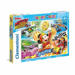 PUZZLE CLEMENTONI 104 P. MICKEY ROADSTER RACER 27085