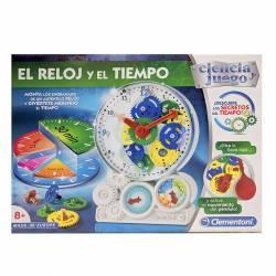 JGO. CLEMENTONI EL RELOJ Y EL TIEMPO 55218