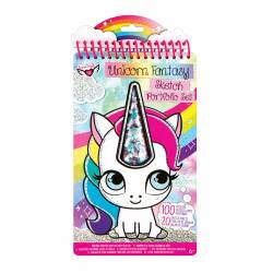 ALBUM DIBUJOS FASHION ANGELS UNICORNIO