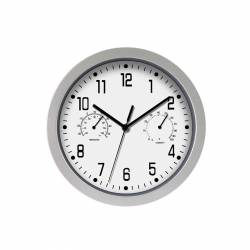 RELOJ DE PARED ANALOG. 30CM PLATA 326594