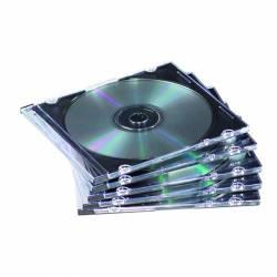 ARCH. CD/DVD 1U. SLIM TRASP. PACK 25U