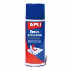 ADHESIVO SPRAY APLI 12088 400ML