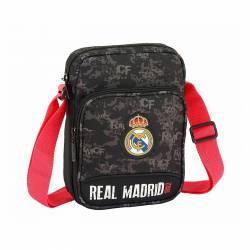 BANDOLERA SAFTA 16X22 R. MADRID BLACK 611924672