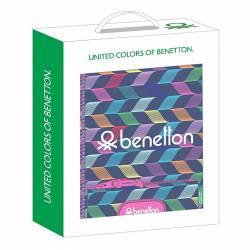 SET REGALO SAFTA BENETTON ONDAS 311953587