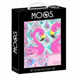 SET REGALO SAFTA MOOS FLAMINGO PINK 311922587