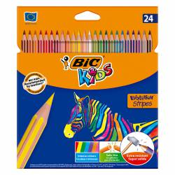 LAPIZ EVOLUTION COLOR STRIPES 24 COLORES 1UD