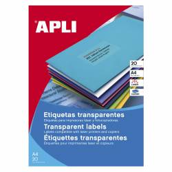 ETI. F/L APLI TRANSLUCIDAS 210X297 20H