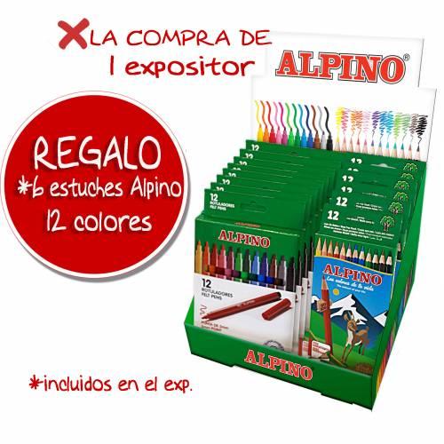 ROT. ALPINO 12R EXP. 12U+REGALO 6 CAJA ALPINO 654