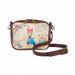 BOLSO AMELIE RIÑONERA 14X19 WORLD TRAVEL LRA1002