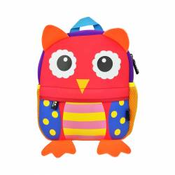 MOCHILA 26X21 HAPPY ANIMALS BUHO DMM0093-B