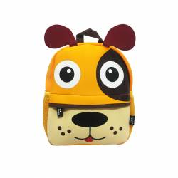 MOCHILA 26X21 HAPPY ANIMALS PERRITO DMM0093-P