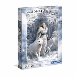 PUZZLE CLEMENTONI 1000 P. ANNE STOKES WINTER GUARDIANS