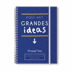 AG. ESC. PRAXTON C/GOMA ESP. 4º 2D/P T/F. GRANDES IDEAS